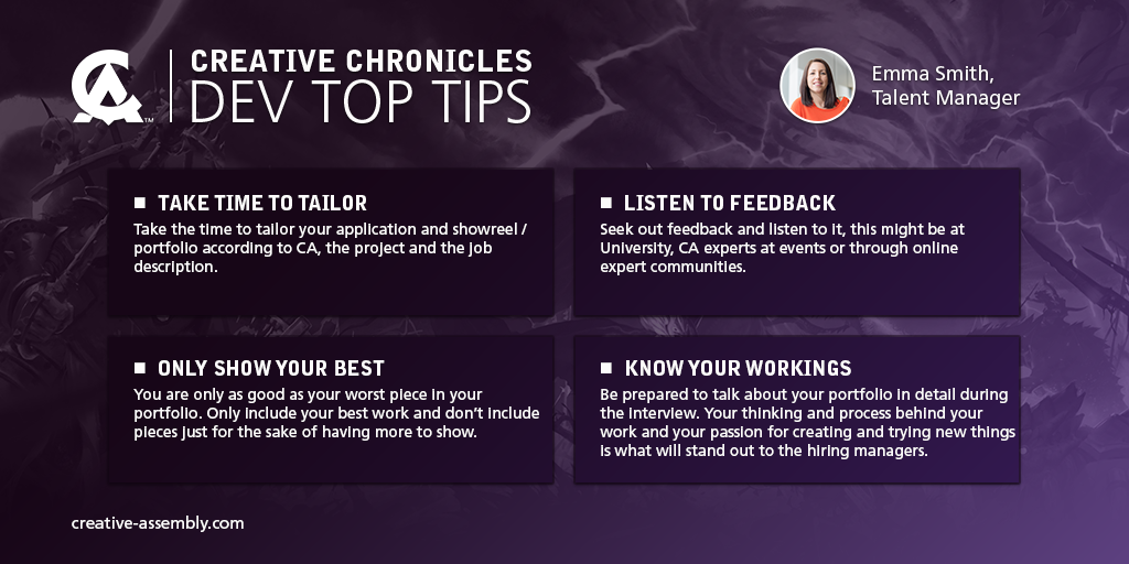 Top tips for trainees